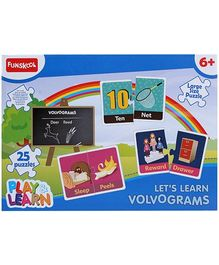 Funskool Play and Learn Volvograms- 25 Pieces