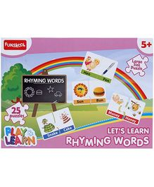 Funskool Play and Learn Rhyming Words- 25 Pieces
