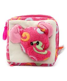 Play N Pets CD Case with Plush Toy Pink - Elephant