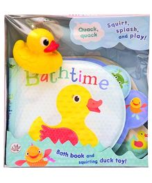 Parragon Bath Time Squirt Splash And Play - English