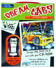 Parragon Cool Creations Dream Cars