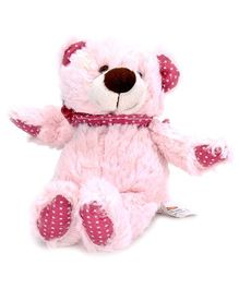 Play N Pets Teddy Bear Soft Toy Light Pink - 20 Cm