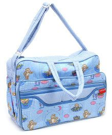 Sapphire Diaper Bag - Light Blue