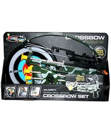 Adraxx Mini Crossbow Set With Arrows and Laser Scope