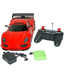 Adraxx Designer Remote Control Sports Car Model- Red