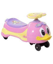 Fab N Funky Musical Baby Twist Car - Pink