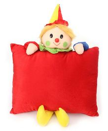 Tickles Joker Cushion- Red