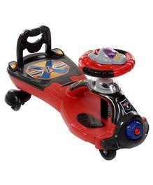 Fab N Funky Racing League Baby Twist Car- Red