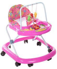 Fab N Funky Musical Baby Walker - Pink