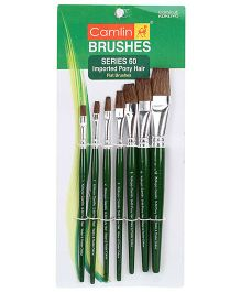 Camlin Paint Brush Set- Pack of 7