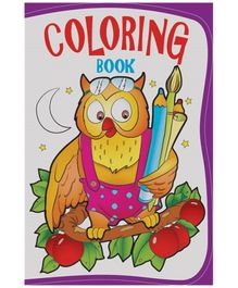 Macaw Coloring Book Owl