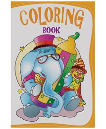Macaw Coloring Book Elephant English