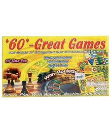 Yash Toys 60 Great Games