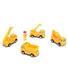 Speedage Pop the Builder  Construction Set - Yellow