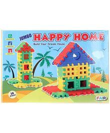 Fair Ind Jumbo Happy Home - 38 Pieces