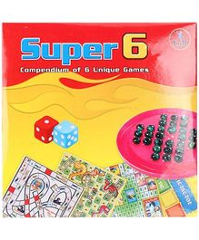 Yash Toys Super 6 - Brainwita Plus 5 Games