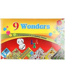 Yash Toys 9 Wonder Games Set