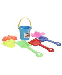 Kumar Toys Nano Beach Set 7 Pieces (Color May Vary)