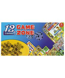 Yash Toys Game Zone 12 In 1 Games