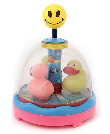 Anmol Toys Press N Spin Racing Duck