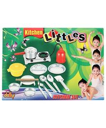 Dolly Kitchen Little Set - 14 Pieces