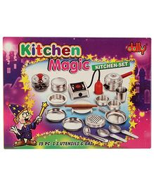 Dolly Kitchen Magic Set