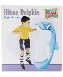 Suzi Hitme Dolphin Blue - 91 Cm