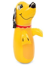 Suzi Hitme Puppy Jr Yellow - 24 Inches