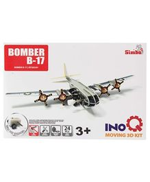 Simba Bomber B 17 INOQ Moving 3 D Kit Puzzle - 24 Pieces