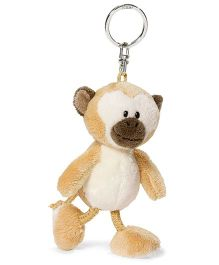 Nici Plush Key Chain- Light Brown