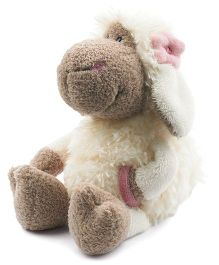 Nici Sheep With Flower Applique Soft Toy