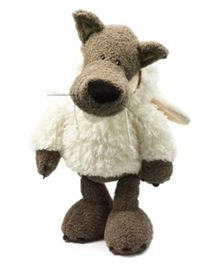 Nici Dangling Wolf Dressed In Sheeps Clothing Soft Toy - Height 15 cm