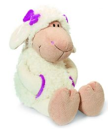 Nici Sheep Jolly Girl Katie Soft Toy with Clothing - 15 cm
