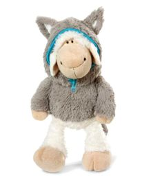 Nici Sheep Jolly Logan Soft Toy with Clothing - 15 cm