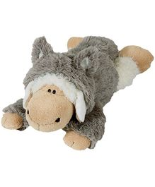 Nici Lying Sheep Jolly Logan Soft Toy with Clothing - 20 cm