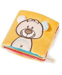 Nici Soft Book Bear Plush