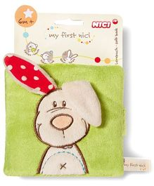 Nici Soft Book Rabbit Plush