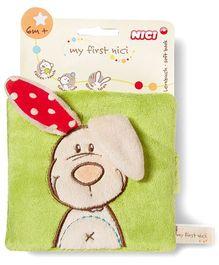 Nici Soft Book Rabbit Plush