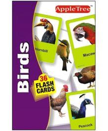 Apple Tree Flash Cards Birds- English