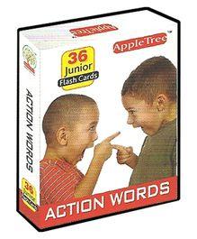 Apple Tree Junior Flash Cards Action Words- English