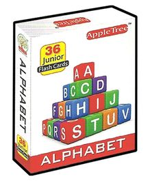Apple Tree Junior Flash Cards Alphabet- English