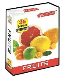 Apple Tree Junior Flash Cards Fruits- English