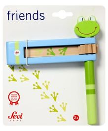 Sevi Wooden Rattle frog