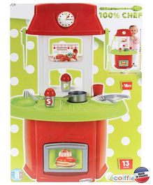 Ecoiffier Bubble Cook Italian Kitchen - 13 Pieces