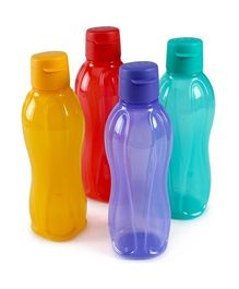 Tupperware Bottles  750 ml Flip Top - 4 piece
