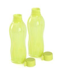 Tupperware Bottle Yellow Pack Of 2 - 1000 ml