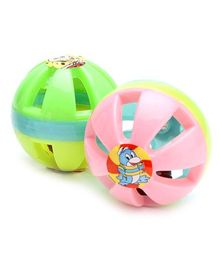 Kumar Toys Small Ball Rattle Set - Contains 2