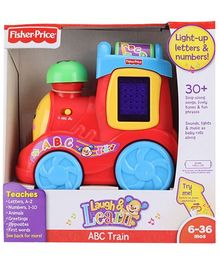 Fisher Price Laugh and Learn ABC Train- Red