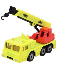 Siku Funskool 1326 Hydraulic Crane - Green And Red