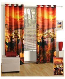 Swayam Digitally Printed Premium Cosmo Fashion Door Curtain - Single Piece
